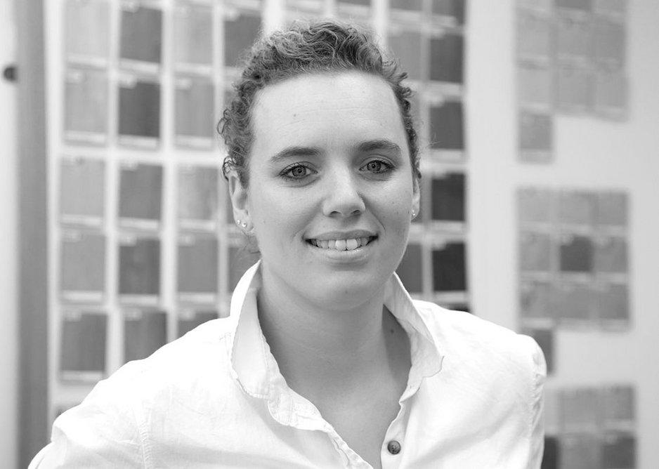 The judging panel: Sarah Escott is senior designer at Amtico