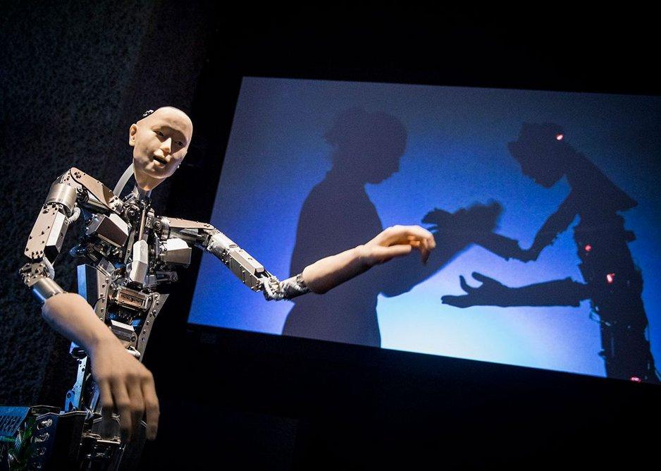 Alter 3: Hiroshi Ishiguro, Takashi Ikegami and Itsuki Doi, from AI: More than Human, Barbican Centre, until August 26, 2019.