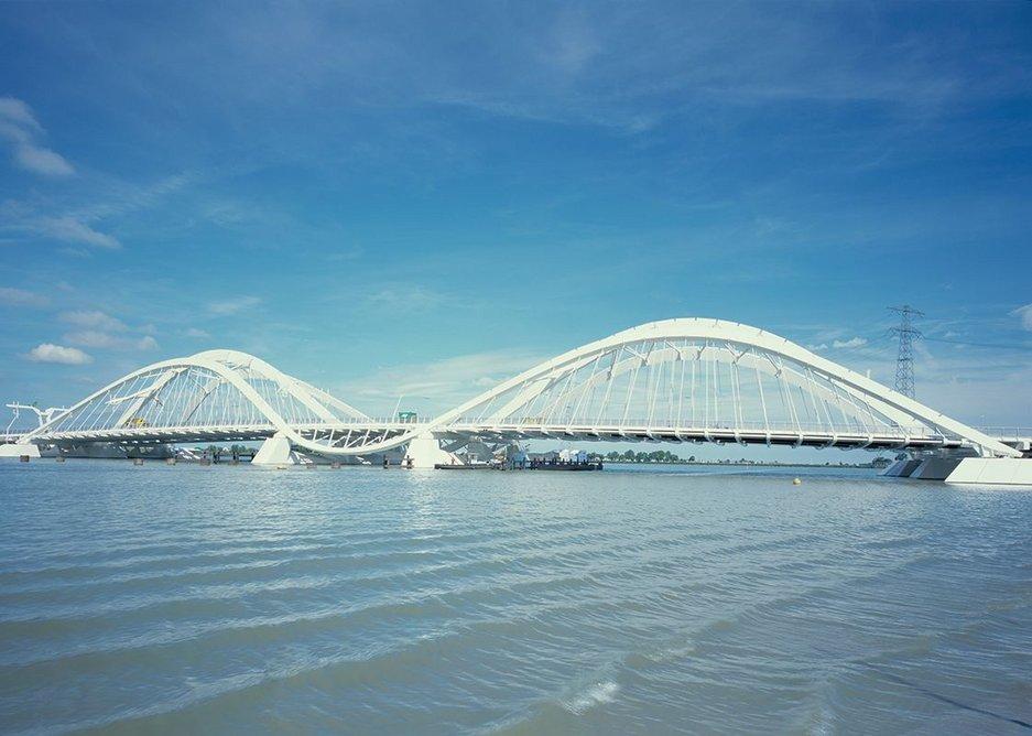 2000: Ijburg Bridges, Amsterdam, The Netherlands.
