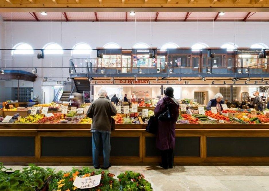 Scarborough Market Hall.
