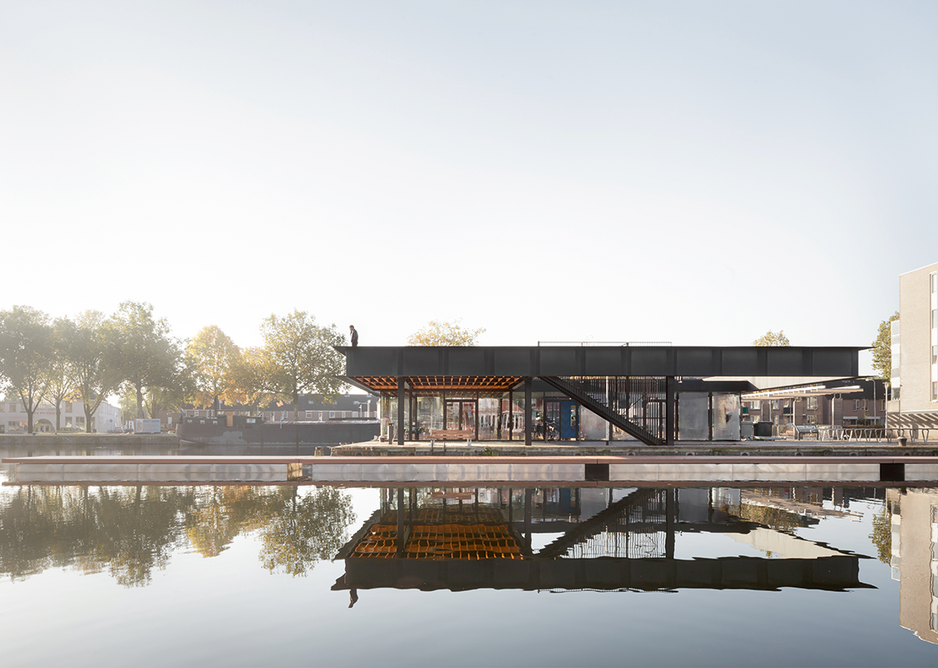 Tilburg's Puishaven Pavilion championed public access over mere monetisation of a popular gathering space in the regenerating harbour area.