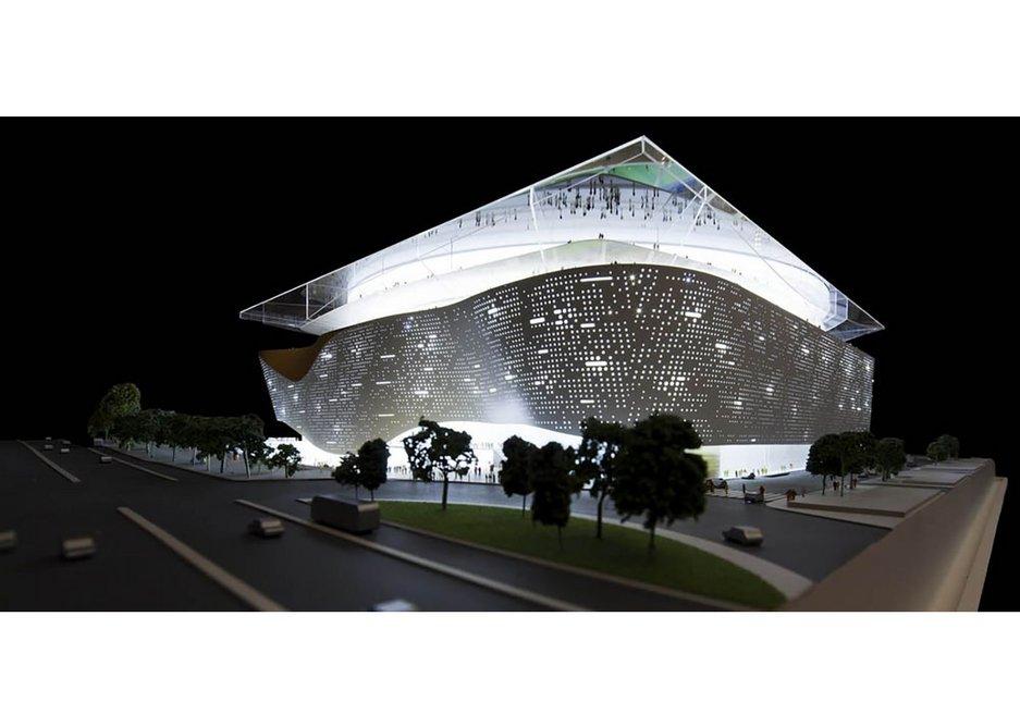 Real Madrid Stadium.