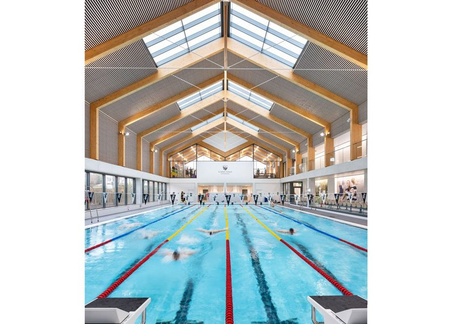 St John's School Sports Centre, Leatherhead