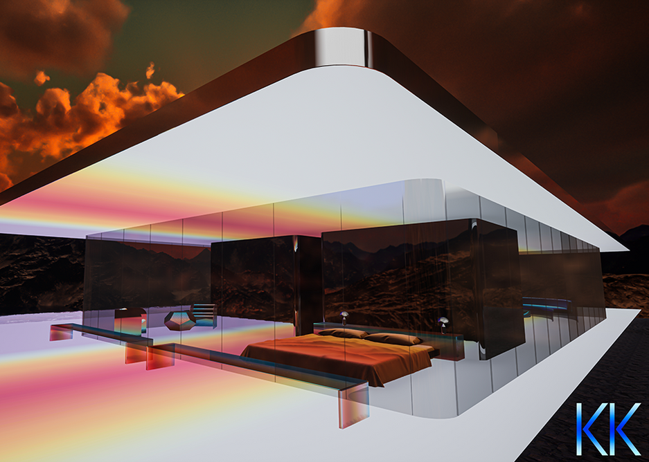 The digital Mars House by artist Krista Kim has sold for $500,000.