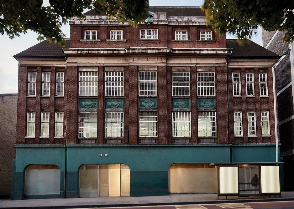 Based in Wood Green, the Green Rooms refurbishment of an art deco office is a cut-price extension of the successful Hoxton Hotel brand.