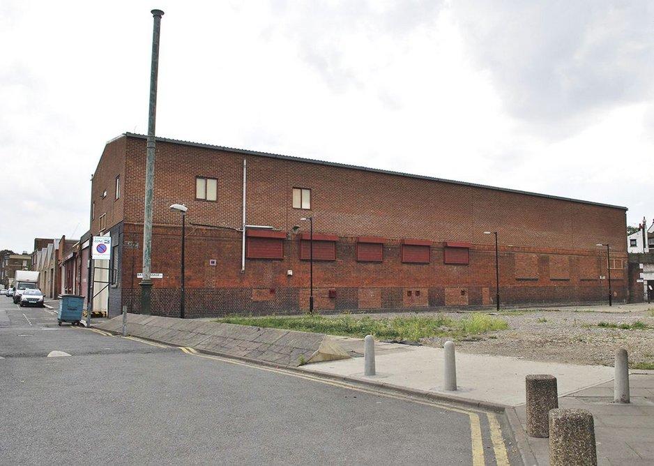 The original 1940s dairy building.