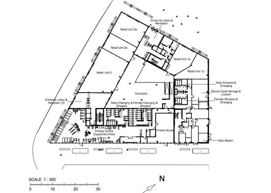 Ground floor plan.