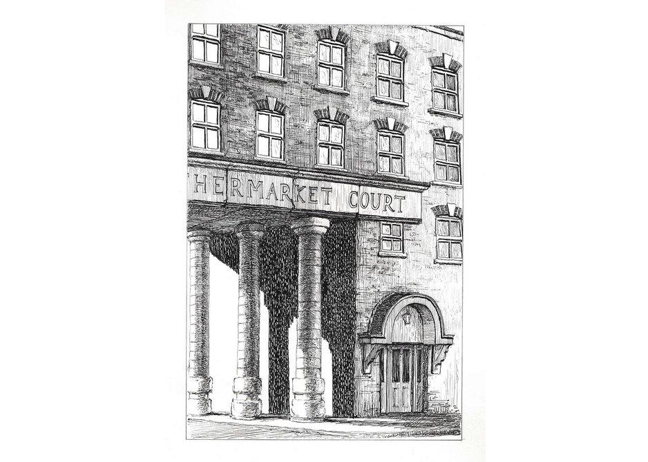 Leathermarket Court, Leathermarket Street, Southwark SE1 3HS. Courtesy: Herald St, London and Galeria Franco Noero, Turin.
