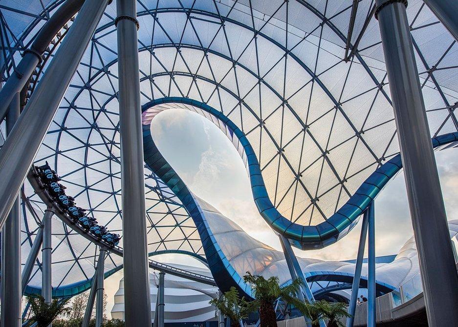 Disney Tomorrowland, Shanghai, China.