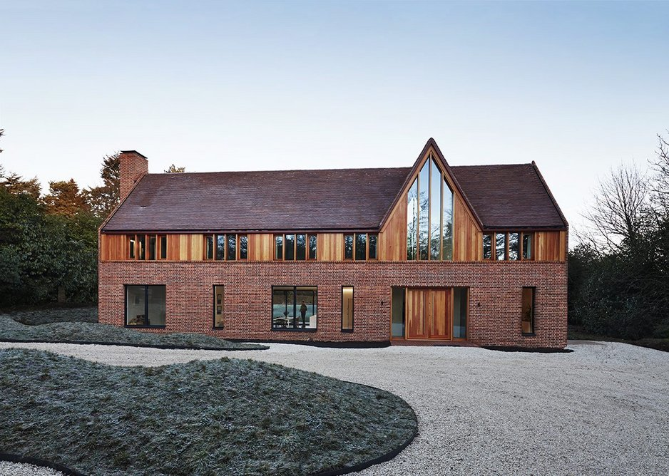 Napier Clarke's Pennycroft house adopts an arts and crafts tone.
