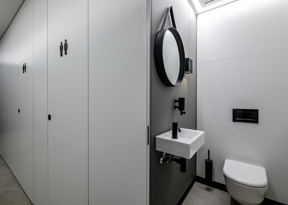 Superloos can be easily designated as unisex or gender-neutral.