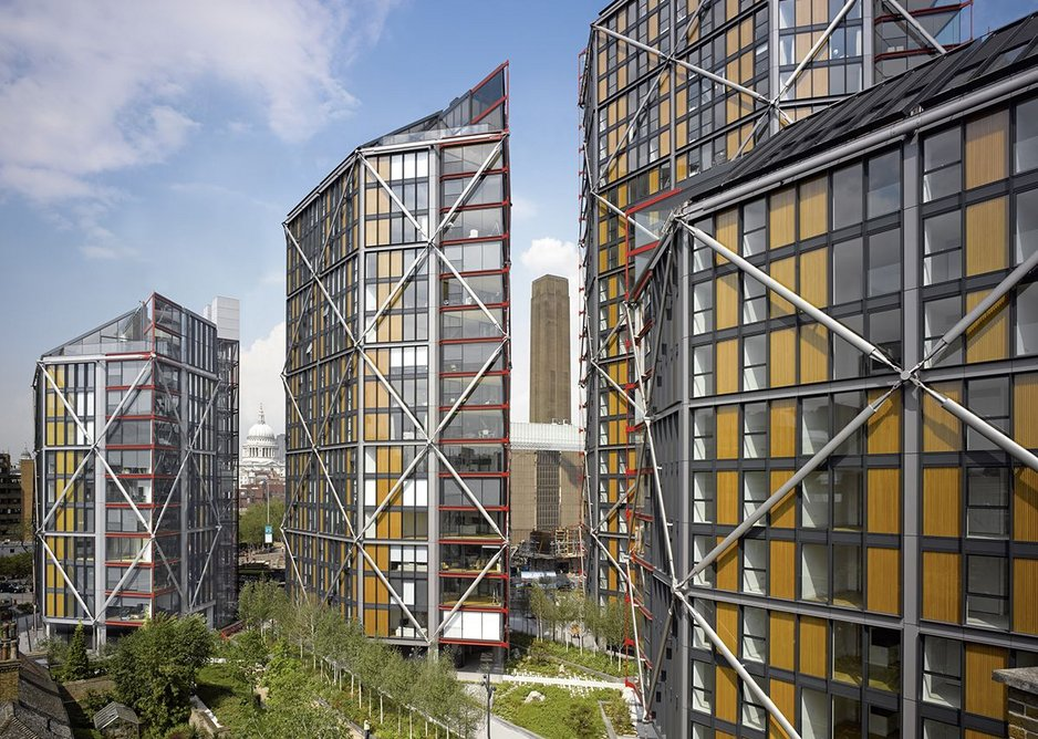 NEO Bankside housing by RSH+P.