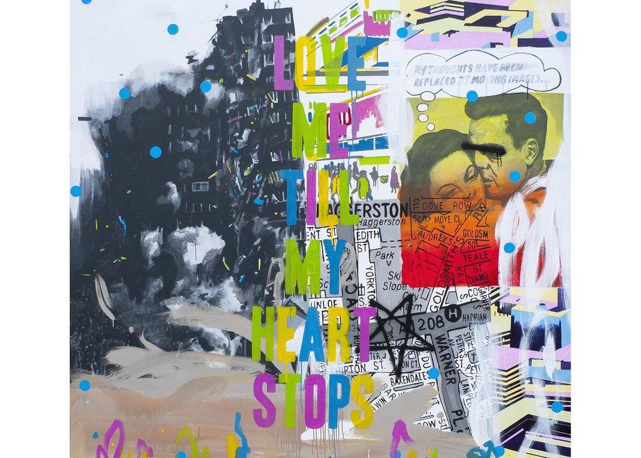Stuart Semple: 'Babylon' 2015.