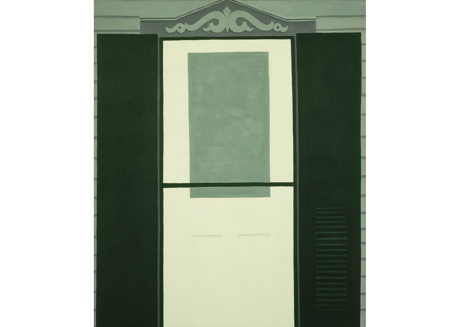 Farmhouse Door and Window by Georgia O'Keeffe, 1929. The Museum of Modern Art, New York. Acquired through the Richard D. Brixey Bequest, 1945.
