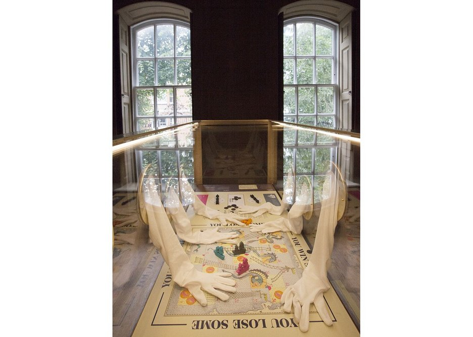 Display at Rainham Hall2 photo National Trust.