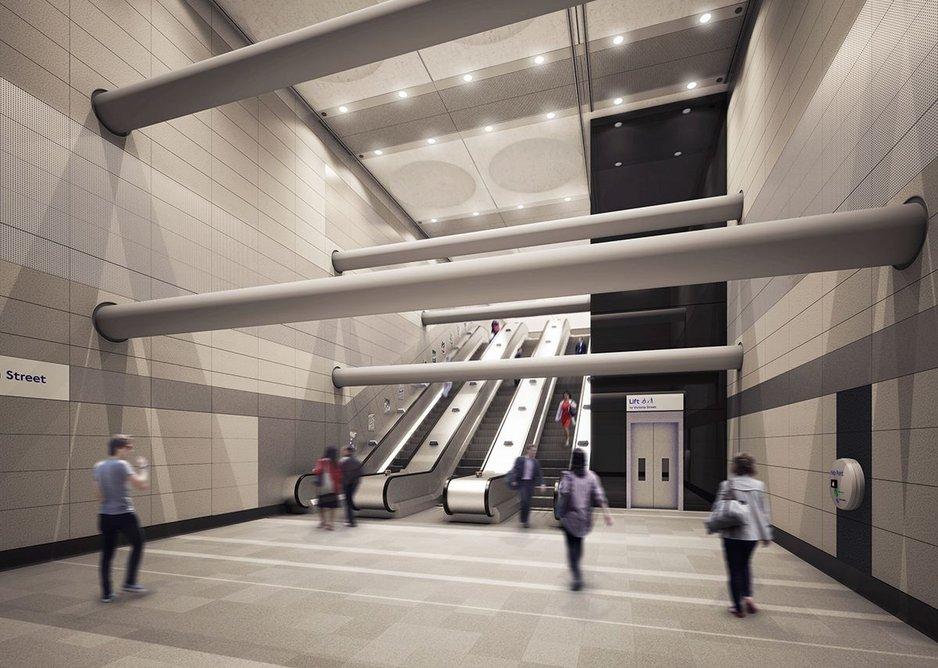 Victoria Station upgrade.