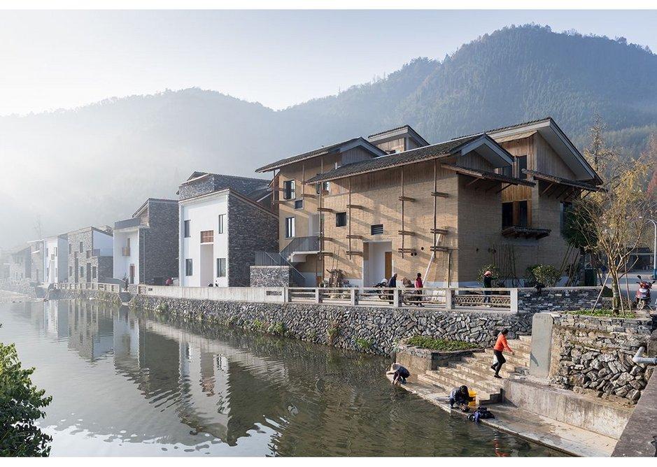 Regeneration of the village Wencun, 2016 by Amateur Architecture Studio.