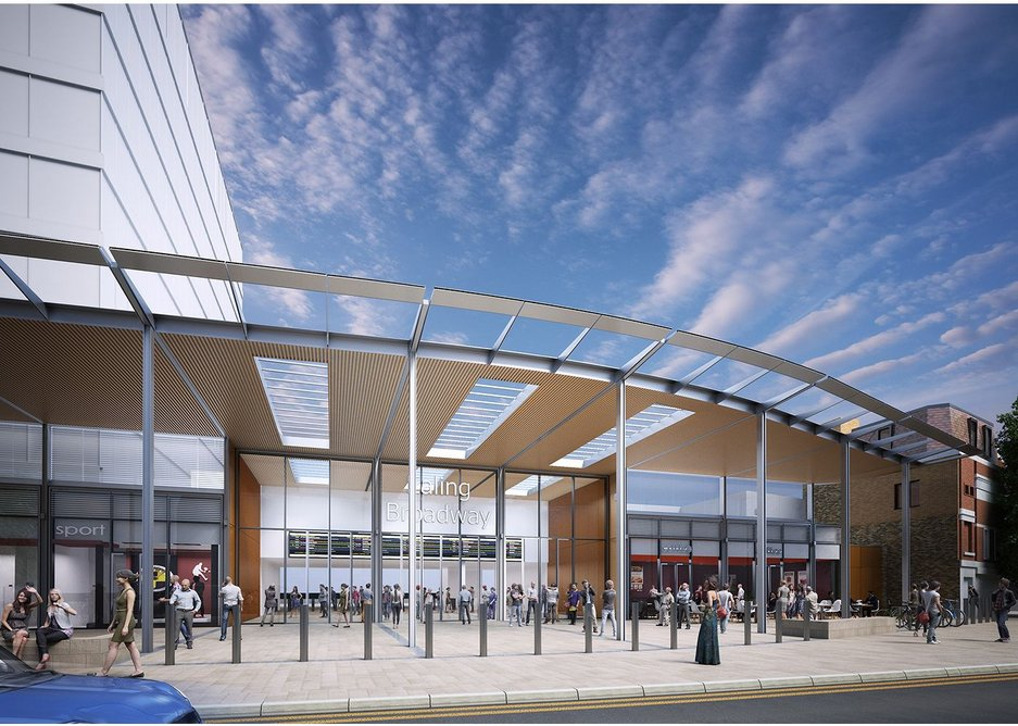 Ealing Broadway station gets the Crossrail upgrade from Bennetts.
