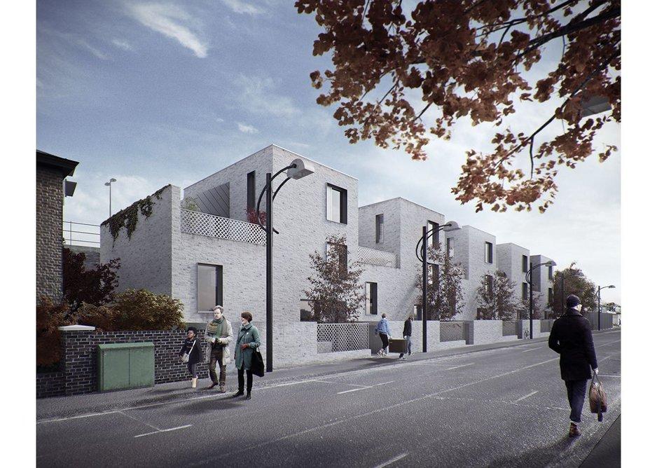 Poulsom Middlehurst Architects for Inhabit Homes.
