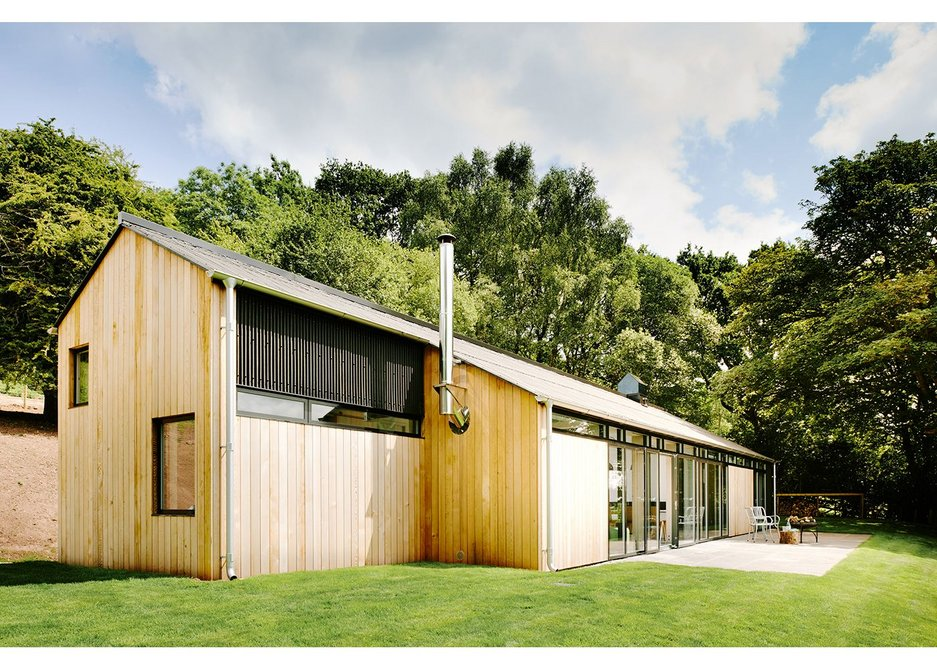 The Chickenshed, Wales, by Hall+Bednarczyk Architects.