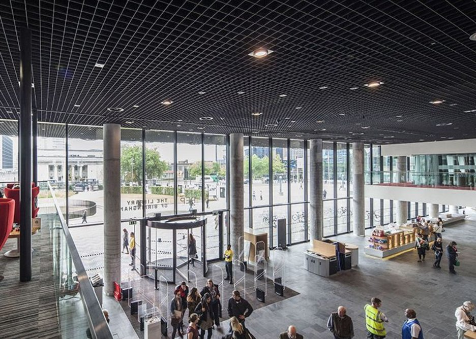 Mecanoo's Library of Birmingham won the Selwyn Goldsmith Award for Universal Design, the accessibility category.
