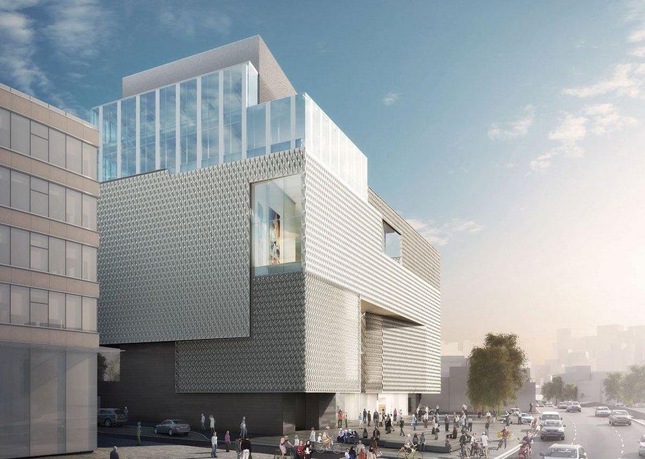 Contemporary Art Museum,  for the Vehbi Koç Foundation Istanbul, Turkey.