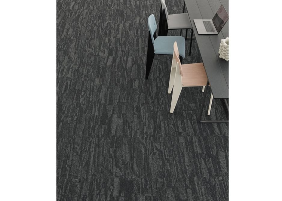 Harvest carpet tiles can be used in a single colour to zone a space or in a mix of options to mark transitions.