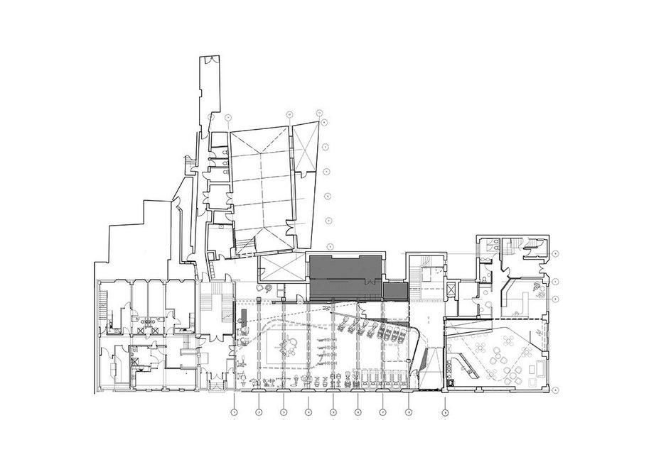 YMCA North Tyneside ground plan