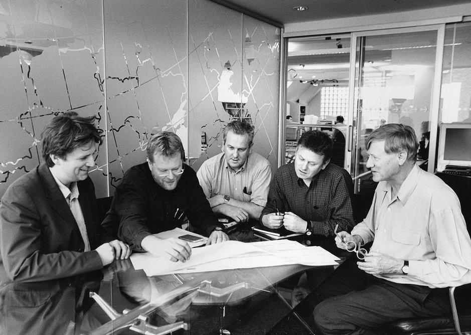 Directors' design review, London, United Kingdom.
