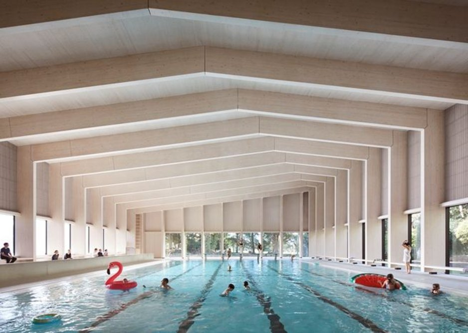 City of London Freemen's School, Swimming Pool, Ashtead.