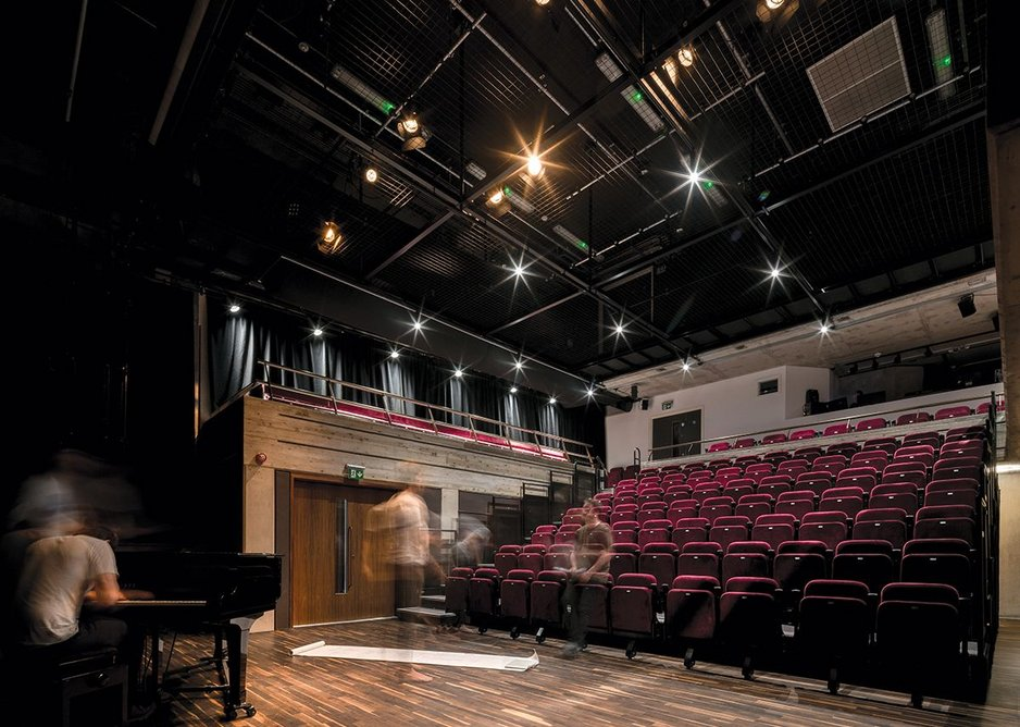 The new 120 seat auditorium offers state of the art theatre facilities.