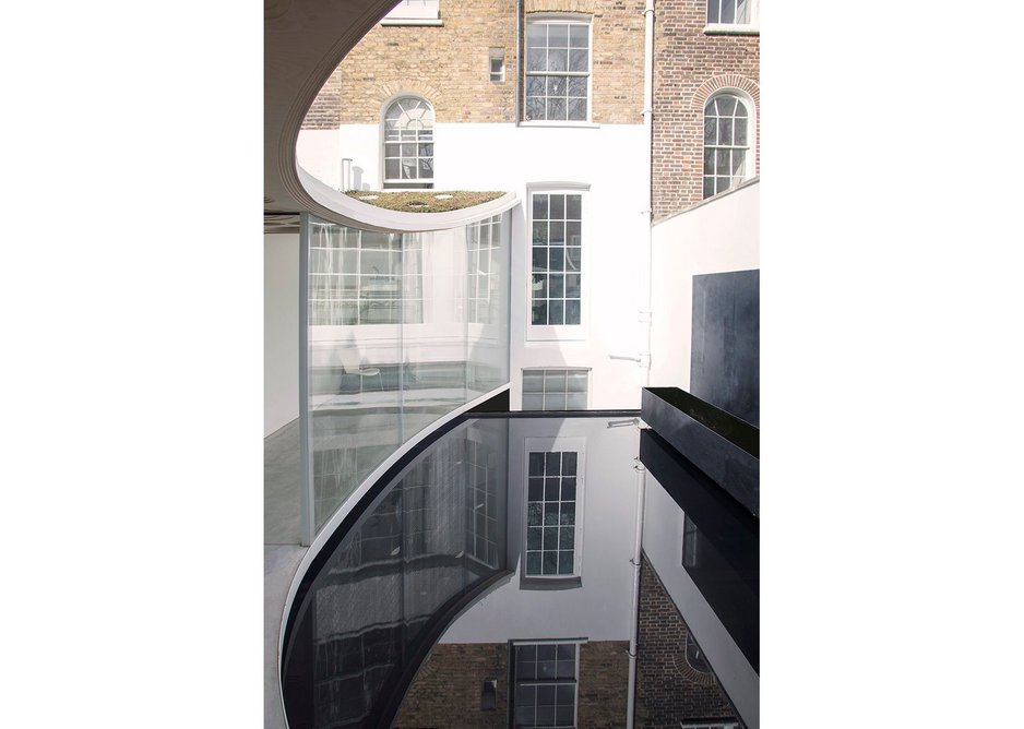 Sun Rain Room, London by Tonkin Liu.