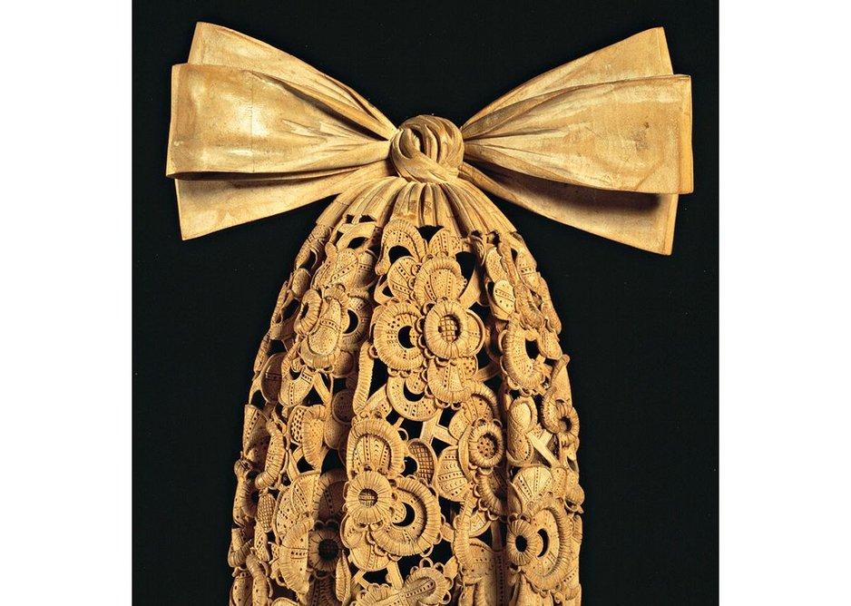 Cravat, Grinling Gibbons, c1690.