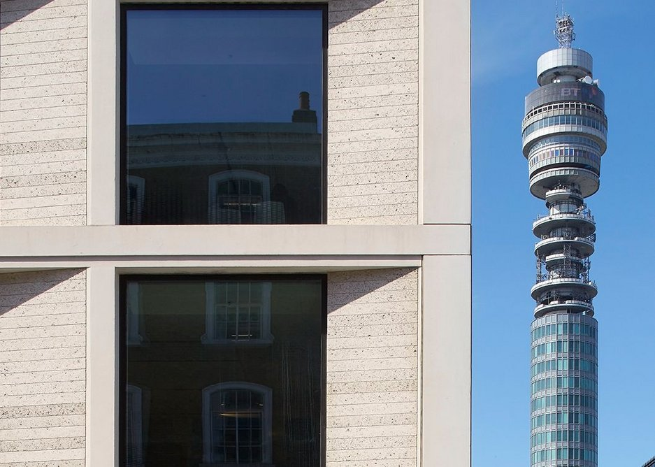 Just so you know Fitzroy place is in London, Fitzroy Place with the BT Tower.