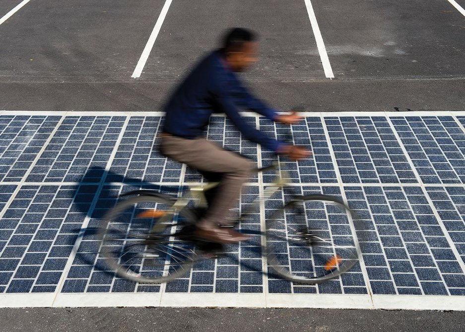 France is using Wattway PV panels to pave 1000km of carriageway.