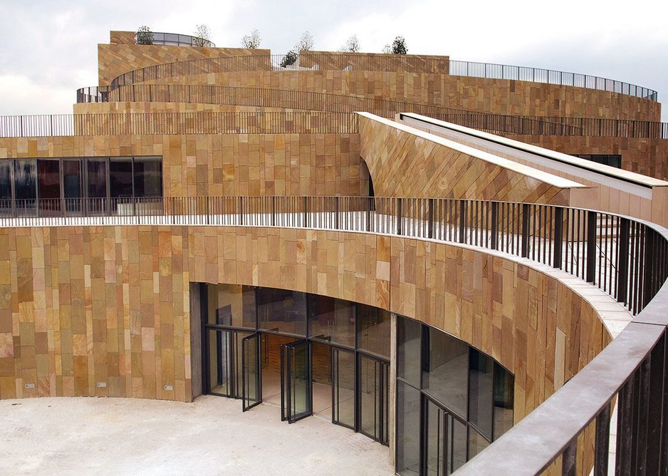 Grand Théâtre de Provence in Aix, completed by Gregotti e Associati in 2007.