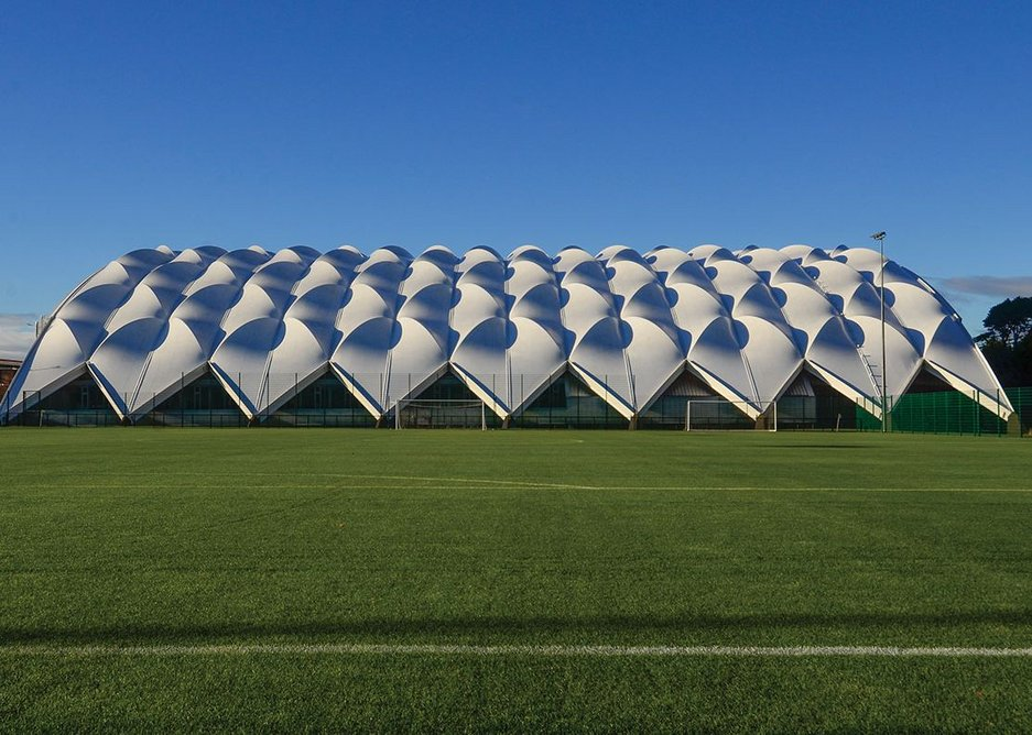 Oriam, Scotland's new national sports performance centre to rival England's St George's Park.