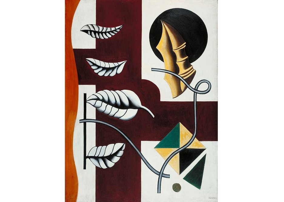 Leaves and Shell (Feuilles et coquillage) 1927 by Fernand Léger, 1881-1955. Tate: Purchased 1949.