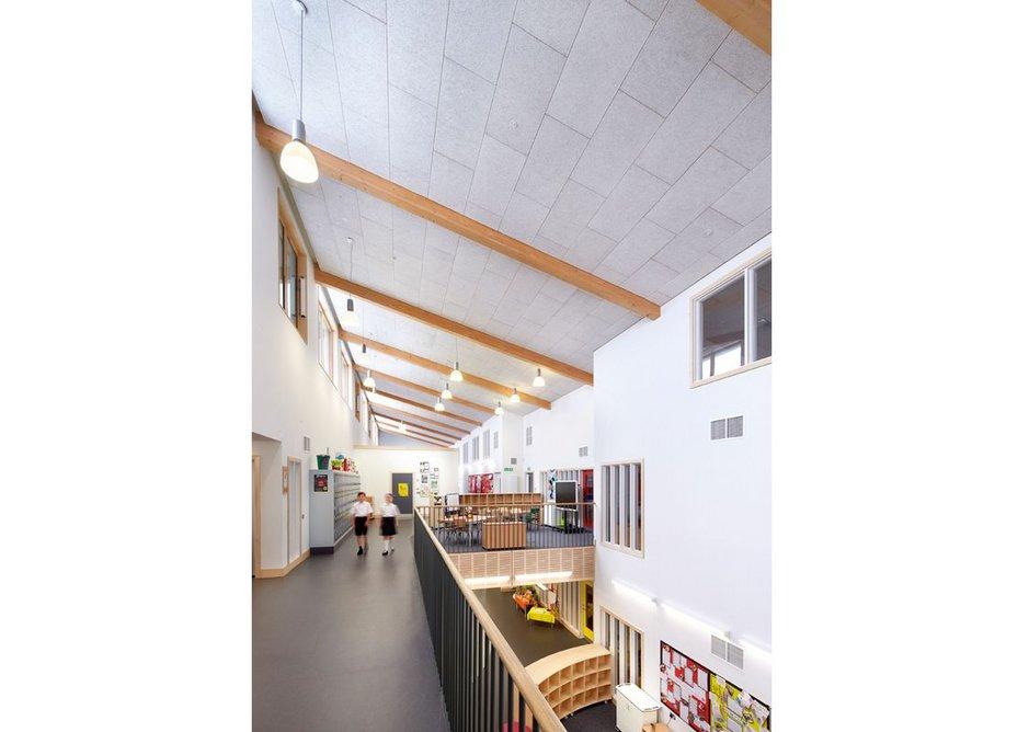 Wilkinson Primary School upstairs atrium