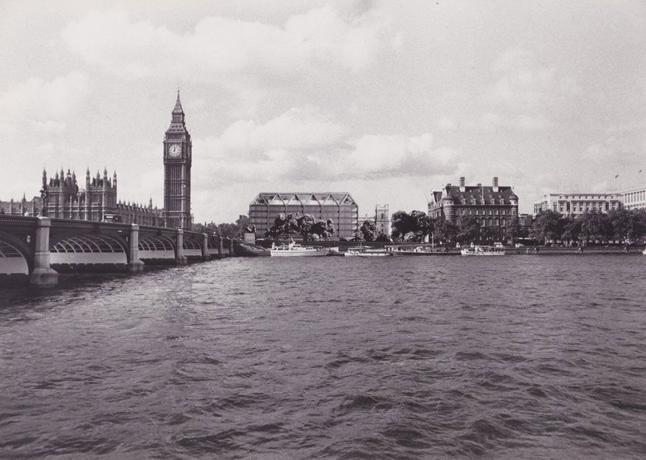 Career-defining competition win - Spence's new Parliament building remained unbuilt.