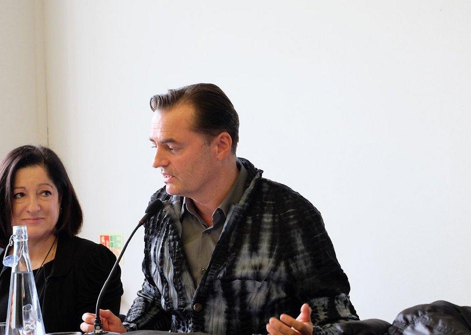 Patrik Schumacher lines up his next response to the student medallists.