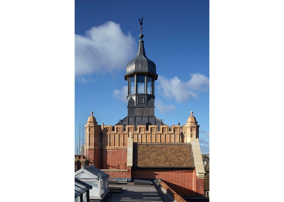 Brighton College Cairns Tower by Richard Griffiths Architects.