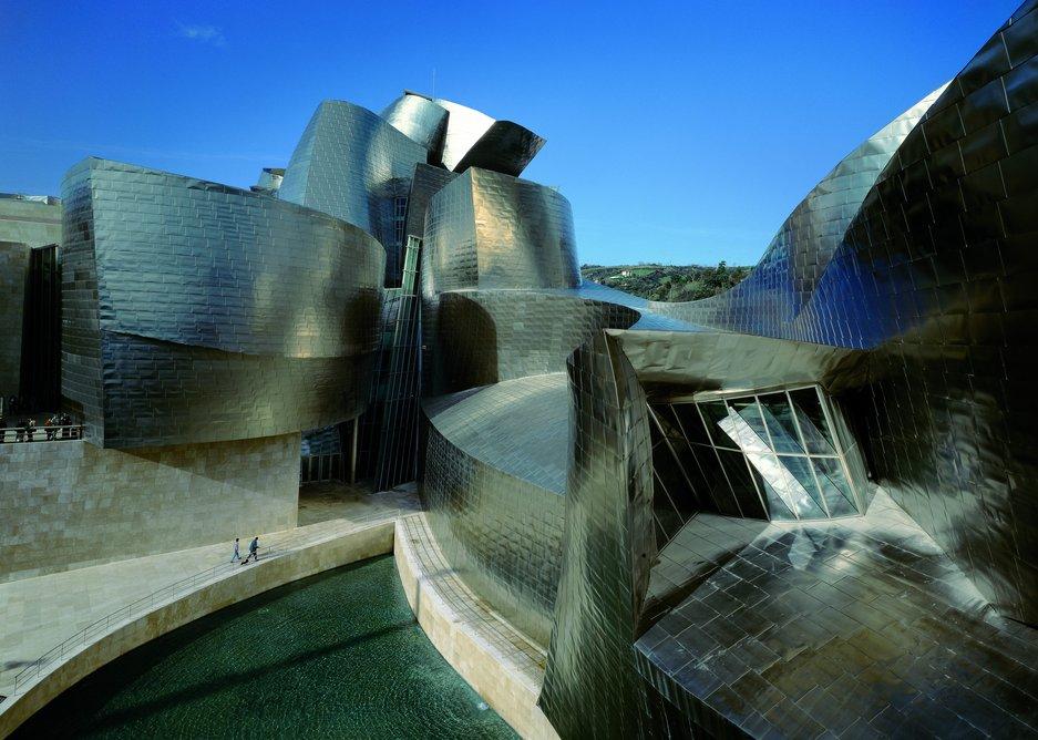 Gehry's Guggenheim, Bilbao, opened 1997.