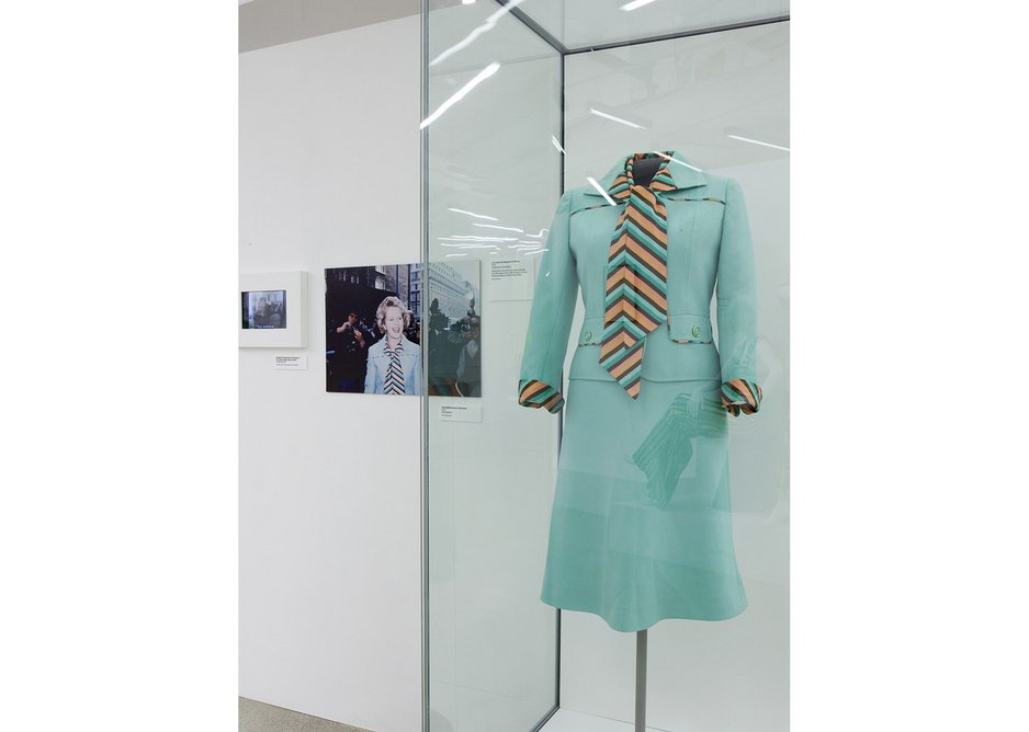 Margaret Thatcher's outfit at Women Fashion Power