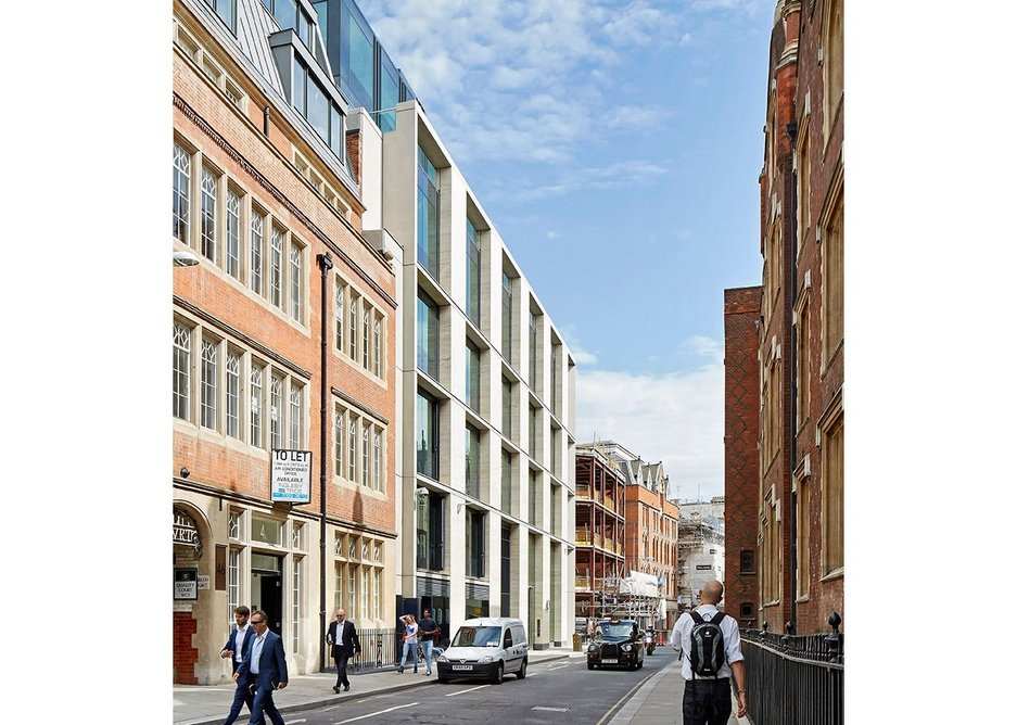 40 Chancery Lane offices London by Bennetts Associates.