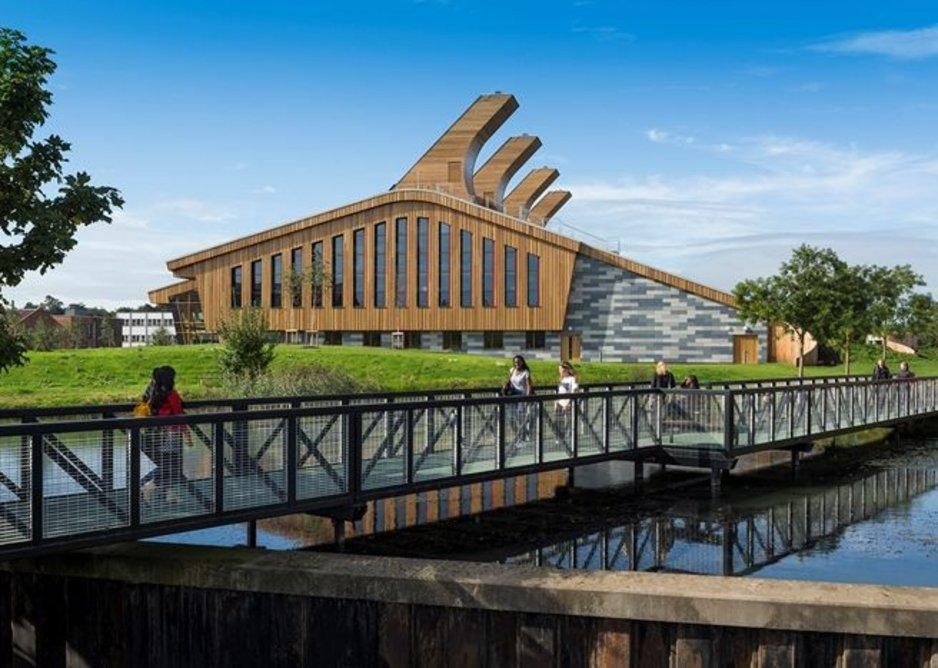 The GlaxoSmithKline Carbon Neutral Laboratories for Sustainable Chemistry, Nottingham.