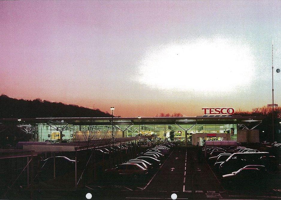 The 1997 Tesco store in Sheffield. Credit Timothy Soar