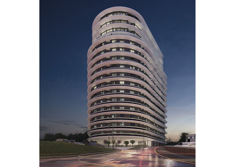 The Beacon will contain 272 apartments.