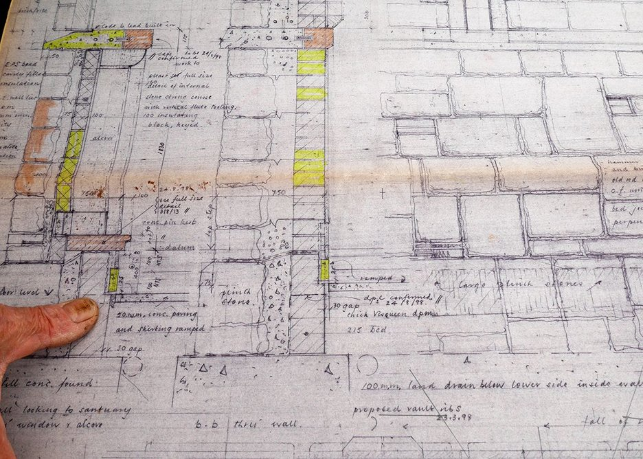 Hand drawn and hand made over many years, this is architecture as it  used to be.