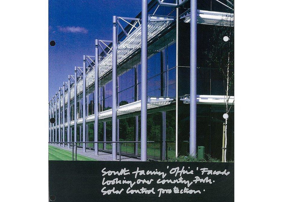 Lennox Wood computer centre. Credit Richard Bryant